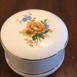 Beautiful bone china box